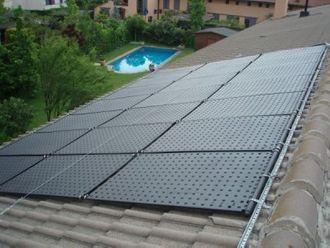 OKU Solarabsorber Komplettset bis 18 m² Wasseroberfläche (9 Kollektoren)