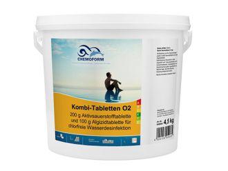 Chemoform Aktivsauerstoff Kombi-Tabletten O2 4,5 kg