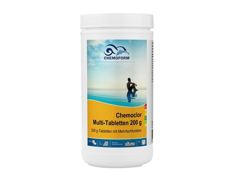 chemoform chemoclor chlor multi tabletten multitabs 1 kg wasserpflege chemoform chemochlor. Black Bedroom Furniture Sets. Home Design Ideas