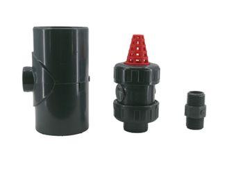 OKU Absorber-Belüftungsset für PVC-Verrohrung Ø 40 mm