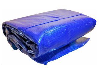 Solarfolie / Solarplane blau 400 my PREMIUM Zuschnitt rund