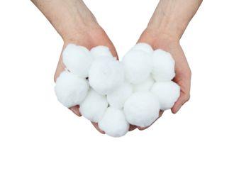 Pool Filterbälle / Filterballs weiß aus Polyethylen