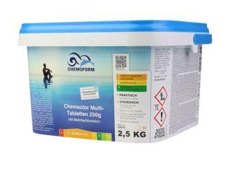 Chemoform Chemoclor Multi-Tabletten 250g mit Mehrfachfunktionen