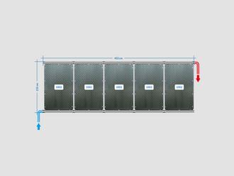 OKU Solarabsorber Pool-Solarheizung SET 10