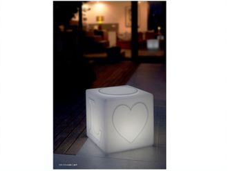 The LOVE Lamp by Goodnight Light Akku-LED Lampe