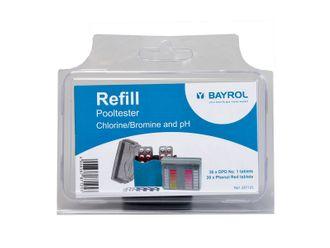 Bayrol Pool-Tester Nachfüllpackung Chlor/Brom/pH