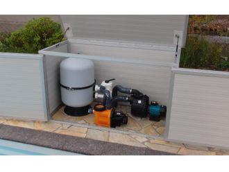 Filterbox für Schwimmbadtechnik