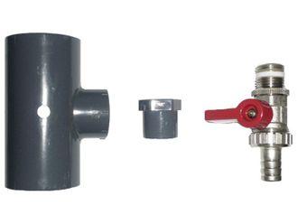 OKU Absorber-Entleerungsset für PVC-Verrohrung Ø 50 mm