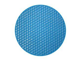 Luftkammerwärmeplane / Solarplane für Rundbecken 380 µm