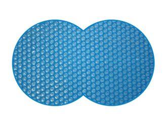 Luftkammerwärmeplane / Solarplane für Achtformbecken 380 µm