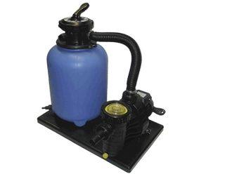 Filteranlage Set 300 mit Filterbehälter 300 mm komplett mit Pumpe Aqua Plus 4