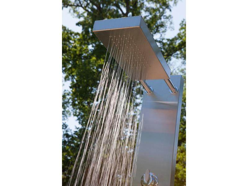 garten dusche elba von ideal eichenwald gartenduschen warmwasserduschen. Black Bedroom Furniture Sets. Home Design Ideas