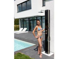 Solar Dusche KUBA von Ideal Eichenwald