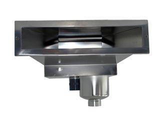 Oberflächenabsauger Typ B 500 Slim, Skimmer aus AISI 316