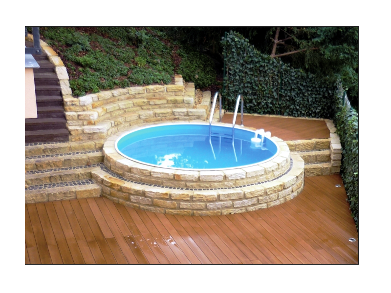 Stahlmantel pool rundpool set star 3 50 x 1 20 m mit for Poolfolie innen rund