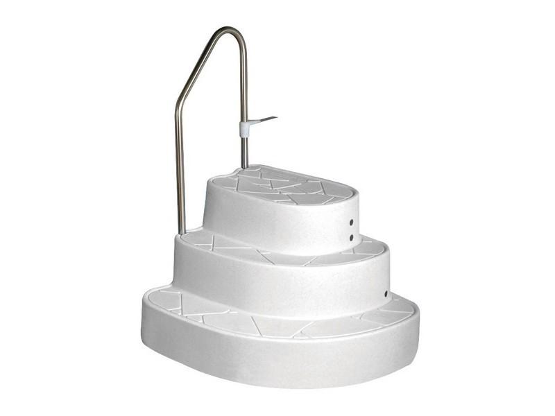 pool treppe tux f r eingelassene becken leitern und treppen. Black Bedroom Furniture Sets. Home Design Ideas