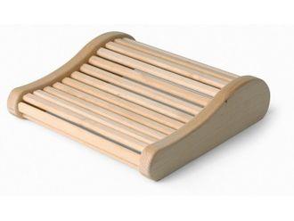 Sauna Funktions-Kopfstütze Espenholz