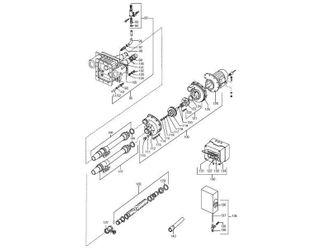 UWE BAMBO Pneumatikschalter komplett Edelstahldesign Nr. 73a