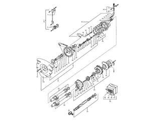 UWE COCO Düsengehäuse mit Pneumatikschalter mit Frontplatte Nr. 14
