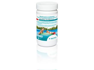 Bayrol Multifunktions-Chlortablette 20 g 1 kg Dose