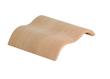 Sauna Ergo-Kopfstütze Wave Espenholz