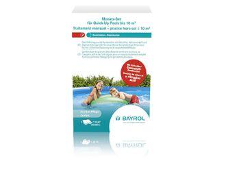 BAYROL Monats-Set Quick-Up Pool bis 10 m³ Desinfektionsgranulat-Kombination