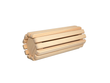 Sauna Kopfstütze / Knierolle aus Abachi-Holz